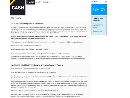 Femjoy Cash